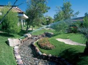Watering-sprinkler